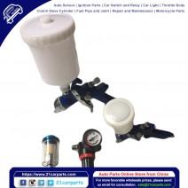 1.0mm 1.4mm 2pcs HVLP Spray Guns Kit