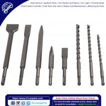 17x Hammer Bits Drill Bit Chisel Fit SDS Plus Rotary Groove Concrete Set