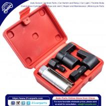 5pcs Oxygen Sensor Socket Vacuum Wrench O2 M12 M18 Tool Renew Thread Chaser