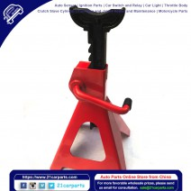 1 Pair of 2 Ton Jack Stands Red
