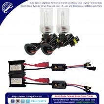 35W AC W/O CANBUS H11B 12000K HID Xenon Light Kit w/ Slim Ballasts