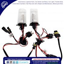 35W AC CANBUS H10 9145 9140 10000K HID Xenon Light Kit Error Free w/ Slim Ballasts
