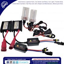 35W AC W/O CANBUS H16 3000K HID Xenon Light Kit w/ Slim Ballasts