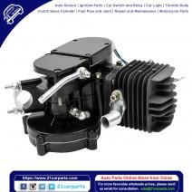 80cc 2-Stroke High Power Engine Bike Motor Kit Black