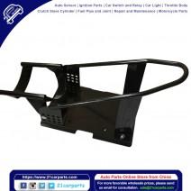 Adjustable Heavy Q235 Steel Motorcycle Wheel Chock Black
