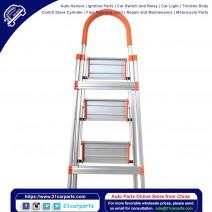 Non-slip 3 Step Aluminum Ladder Folding Platform Stool 330 lbs Load Capacity
